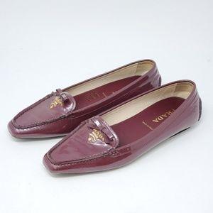 💯 Auth Prada Flat Shoes Excellent Size 36